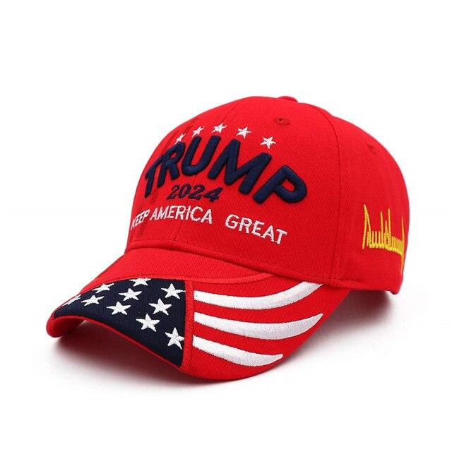 Donald Trump 2024 Cap (Red) 1
