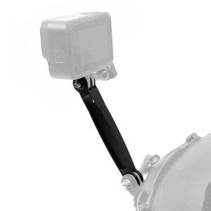 Image 5 - BGNING 알루미늄 합금 헬멧 연장 암 Gopro Hero 8 7 6 5 용 자기 사진 마운트 GitUp Action Camera 용 SJCAM 용 Xiaoyi 용