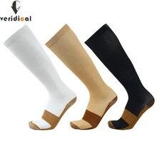 20-30 mmHg calze da viaggio a compressione graduata pressione costante circolazione qualità ginocchio calze di supporto ortopediche calze per tubo