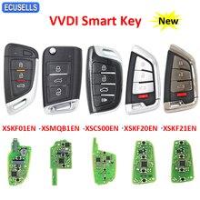 مفتاح السيارة الذكي عن بعد Xhorse XSKF01EN XSMQB1EN XSCS00EN XSKF20EN XSKF21EN لأداة مفتاح VVDI VVDI2 MINI و VVDI