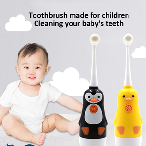 Image 3 - electric toothbrush kids replacement brush heads Protect childrens oral hygiene 2 to 10 years CE 3C safety certificate SU145