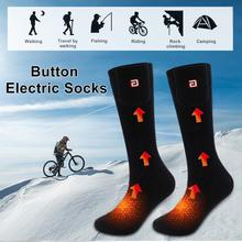купить Cycling Knee High Scoks Winter Warm Heating Socks Washable Heated Sock Thermal Warmer Foot Feet Wear For Outdoor Sports Skiing по цене 1159.99 рублей