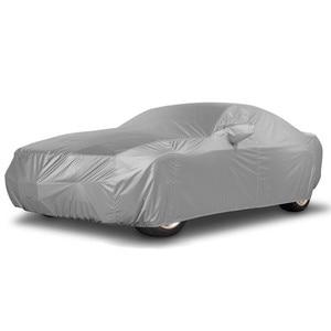 Image 1 - العالمي كامل سيارة يغطي الشمس الثلوج الغبار الظل UV مقاومة حامي غطاء السيارة معطف ل سيدان SUV S M L XL XXL D30