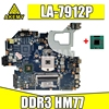 Dla ACER Aspire E1-571G V3-571G V3-571 NV56R Q5WVH LA-7912P płyta główna laptopa Mainboard obsługa DDR3 i3 i5 i7 HM77 SLJ8C