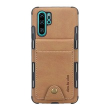 Flip Card Slot Silicone Coque Leather Wallet Back Phone Case Cover For Huawei P20 P20Pro P20Lite P30 P30Pro P30Lite Case KS0286 коврик для ванной комнаты ridder tokio 70x120 оранжевый