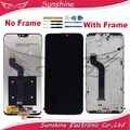 Gute Qualität LCD Für Xiao mi mi A2 Lite Display/Rot mi 6 Pro LCD Display Mit Touch Screen sensor Komplette Montage