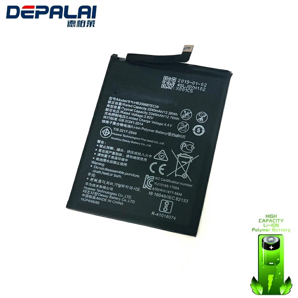 High Quality Replacement Battery 3340mAh HB356687ECW For Huawei Nova 2 Plus Nova 2i Honor 9i Huawei G10 Mate 10 Lite
