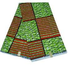 New African Wax Print Fabric Polyester Pattern Ankara Nederlands Batik Z628