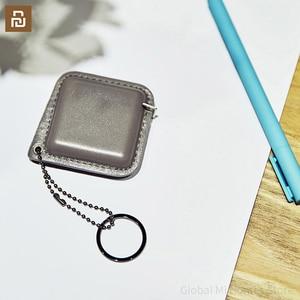 Image 5 - Smartfern1985 순수한 소 가죽 휴대용 통치자는 작고 편리합니다. 나일론 샌드위치 테이프