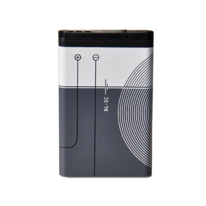 High Qualtiy 1020mAh BL 5C BL-5C Battery For Nokia 6600 2610 2600 2300 6230 6630 N70 N71 N72 N91 E60 BATTERY BL5C