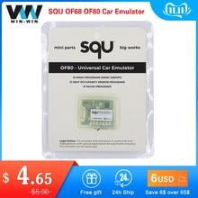 SQU OF68 Universal Car Emulator SQU OF80 Car Emulator Signal Reset Immo off Seat occupancy sensor/Tacho programs Diagnostic Tool