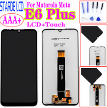 Original For Motorola Moto E6 Plus PAGA0004 LCD Display Touch Screen Sensor Digiziter Assembly New For moto E6 Plus LCD