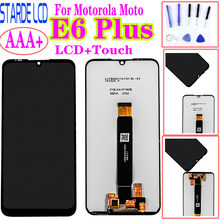 Moto la moto e6 plus paga0004 lcd 디스플레이 터치 스크린 센서 digiziter assembly for moto e6 plus lcd(China)