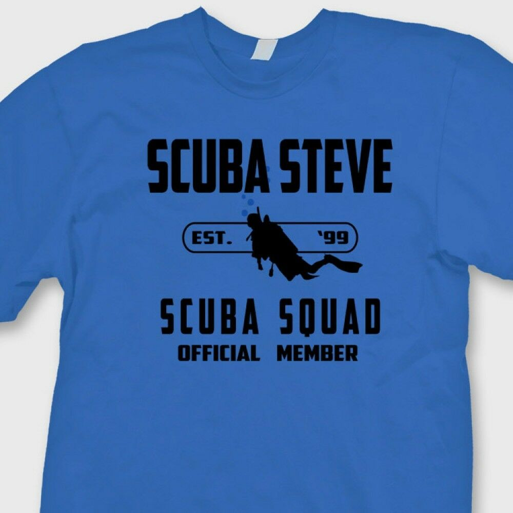 SCUBA STEVE Funny Adam Sandler T shirt Big Daddy Movie Tee Shirt image