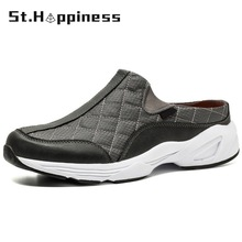 Slippers Foot-Sneakers Outdoor Big-Size Men's Casual Fashion 48 Brand New Comfortable