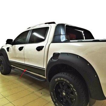 Livraison gratuite gauche et droite wiltrack marquage côté corps porte rayure taille voiture style autocollants pour Ford Ranger