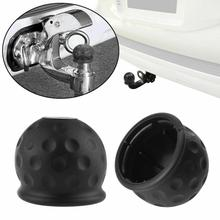 Шар для трейлера крышка головки Европейский автомобиль 7-Hole вилка трейлер адаптер грузовик RV разъем шнура питания разъем Резиновый Towball защиты
