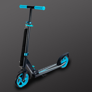 Foldable PU 2 WheelsKick Scooter Aluminum Alloy Kids Children's Foot Pedal Scooters Height Adjustable Exercise Toys Skateboard