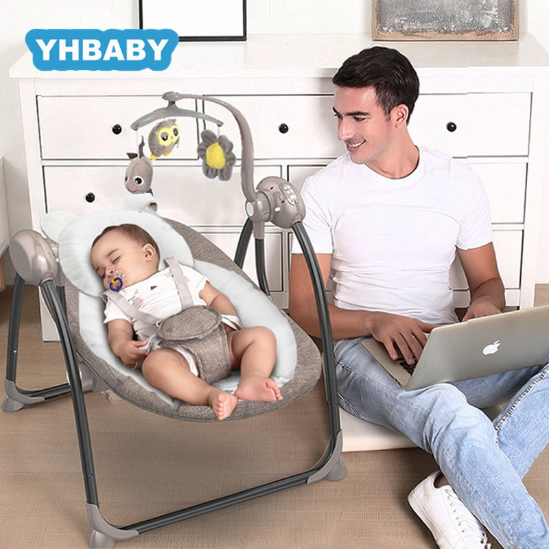 Baby Swing Multifunctional Baby Electric Baby Rocking Chair Electric Baby Cradle With Remote Control Cradle Rocking Chair