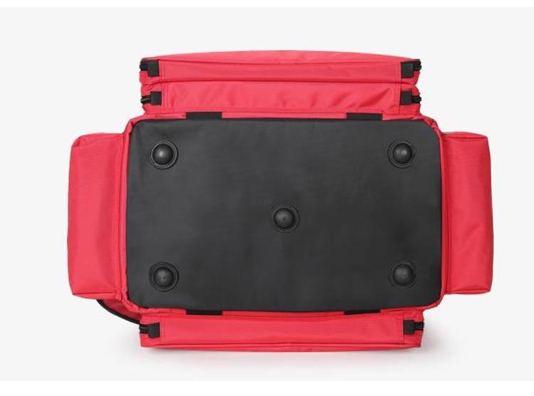 Outdoor First Aid Medical Bag Isolation Multi-pocket Large Storage Portable Cross Emergency Medical Bag Sports Travel Nylon Bag (7)