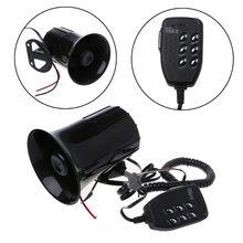 3 Звуки/6 звук громкий безопасности Предупреждение рог для автомобиля