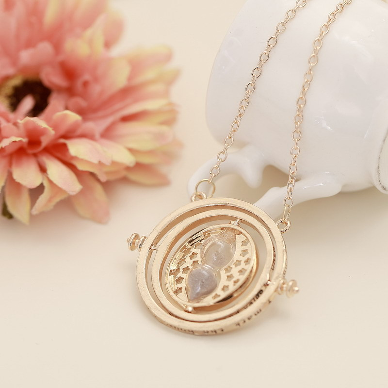 Europe And America Foreign Trade Harry Potter Time Adapter Sand Filter Necklace Sweater Chain AliExpress EBay Currently Availabl