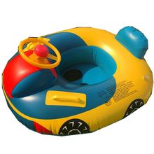 Car Shaped Inflatable Pool Float Boat Pool Swimming Floats for Toddler Infant