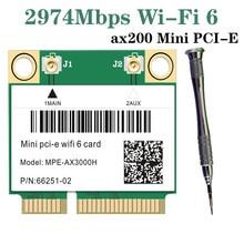 Wifi-Card Network Bluetooth Mini pci-E Wireless-Adapter 7260HMW Wlan Dual-Band Half 2974mbps