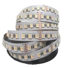 Dc24v 30w 12mm fpbc 480leds 4 em 1 5050 smd led luz de tira rgbw rgbww luz regulável e temperatura de cor ajustável 16.4ft
