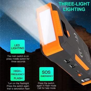 Haute puissance 1500A pics voiture saut démarreur 12v 1000A batterie externe sans fil téléphone Charge Auto batterie Booster chargeur dispositif de démarrage