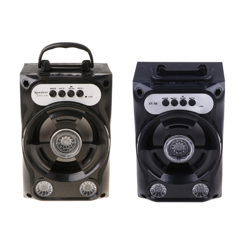 Large Size Bluetooth Speaker Wireless Sound System Bass Stereo with LED Light Support TF Card FM Radio Outdoor Sport Tra