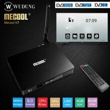 Mecool K7 Android 9.0 TV Box Amlogic S905X2 DVB-T2/S2/C Quad
