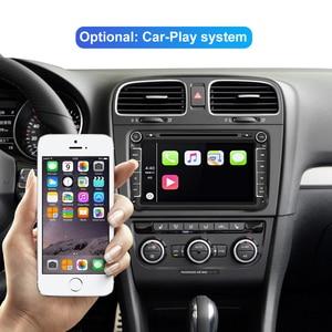Image 3 - Isudar araba multimedya oynatıcı Android 10 GPS 2 Din araba radyo ses için otomatik VW/Volkswagen/POLO/PASSAT/Golf 8 çekirdek RAM 4G 64G DVR