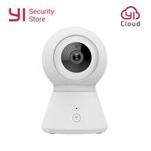 Alimentado por yi câmera dome inteligente 1080p wifi casa cam cctv pan/tilt/zoom câmera ip sem fio de vigilância de segurança cam nuvem yi iot