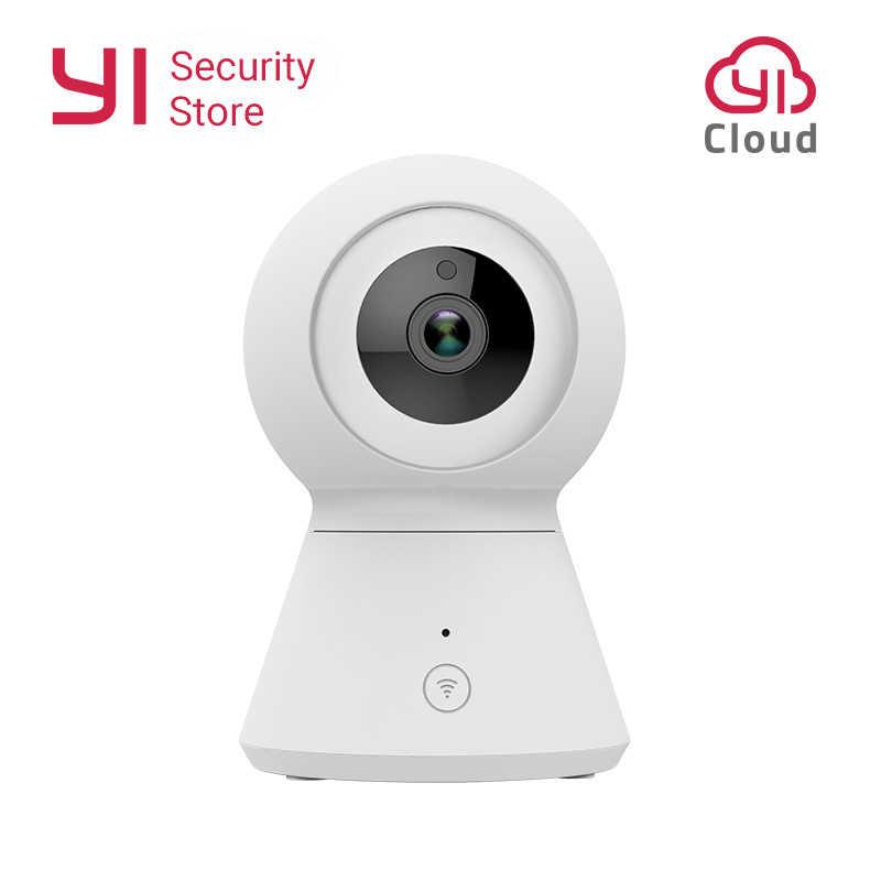 Работает от YI Смарт купольная камера 1080p Wifi домашняя камера видеонаблюдения панорамирование/наклон/зум Беспроводная ip-камера камера наблюдения Безопасность облако YI IOT
