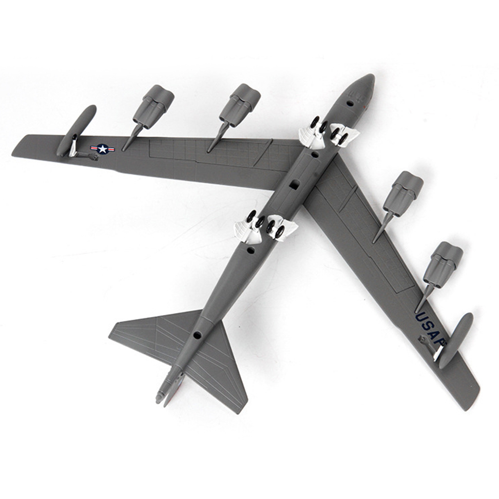 1:200 Diecast Alloy Amerikanischen B-52 Bomber Flugzeug Modell W/Metall Stehen