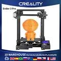3D- принтер CREALITY 3D Ender 3 Pro, 3d принтер DIY I3 креативный Модернизированный блок питания ul и возобновление печати с 220x220x250 мм 3d принтер 3д принтер
