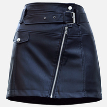 Mini Leather Skirt Belt EL7F0