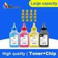 Polvo de tóner INKARENA con chip CLT 407 CLT-407 CLT-K407S para Samsung CLP-320 CLP-325 CLP-326 CLX-3180 CLX-3185 tóner de recarga