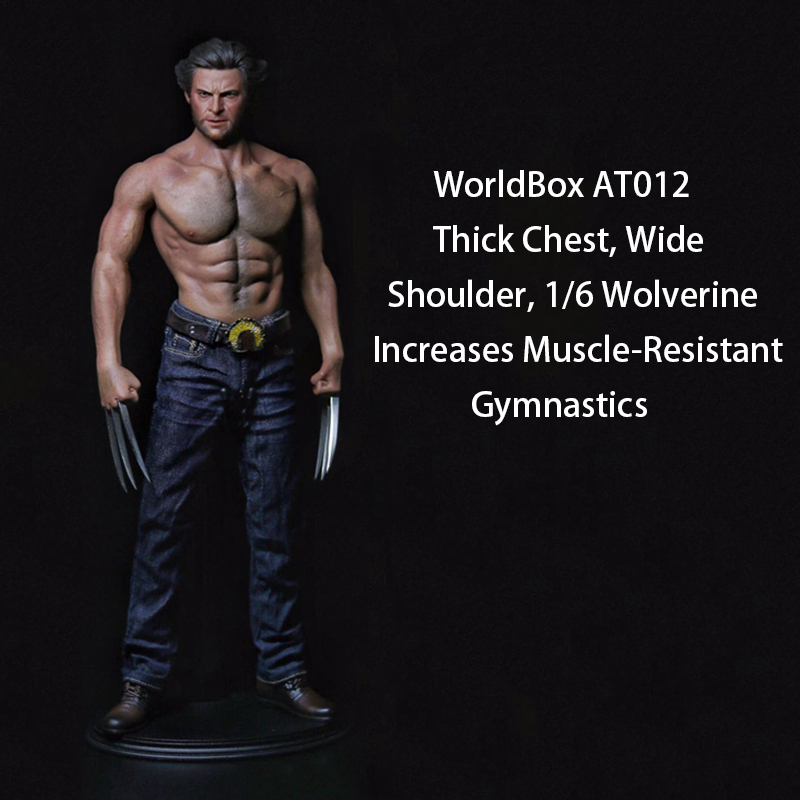 ZC Toys 1/6 Male 12 Strong Muscular Figure Body Doll