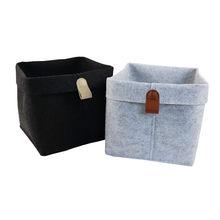 Cestino portaoggetti in tessuto contenitore pieghevole pieghevole robusto armadio da tavolo per la casa contenitore per giocattoli organizzatore per trucco cosmetico