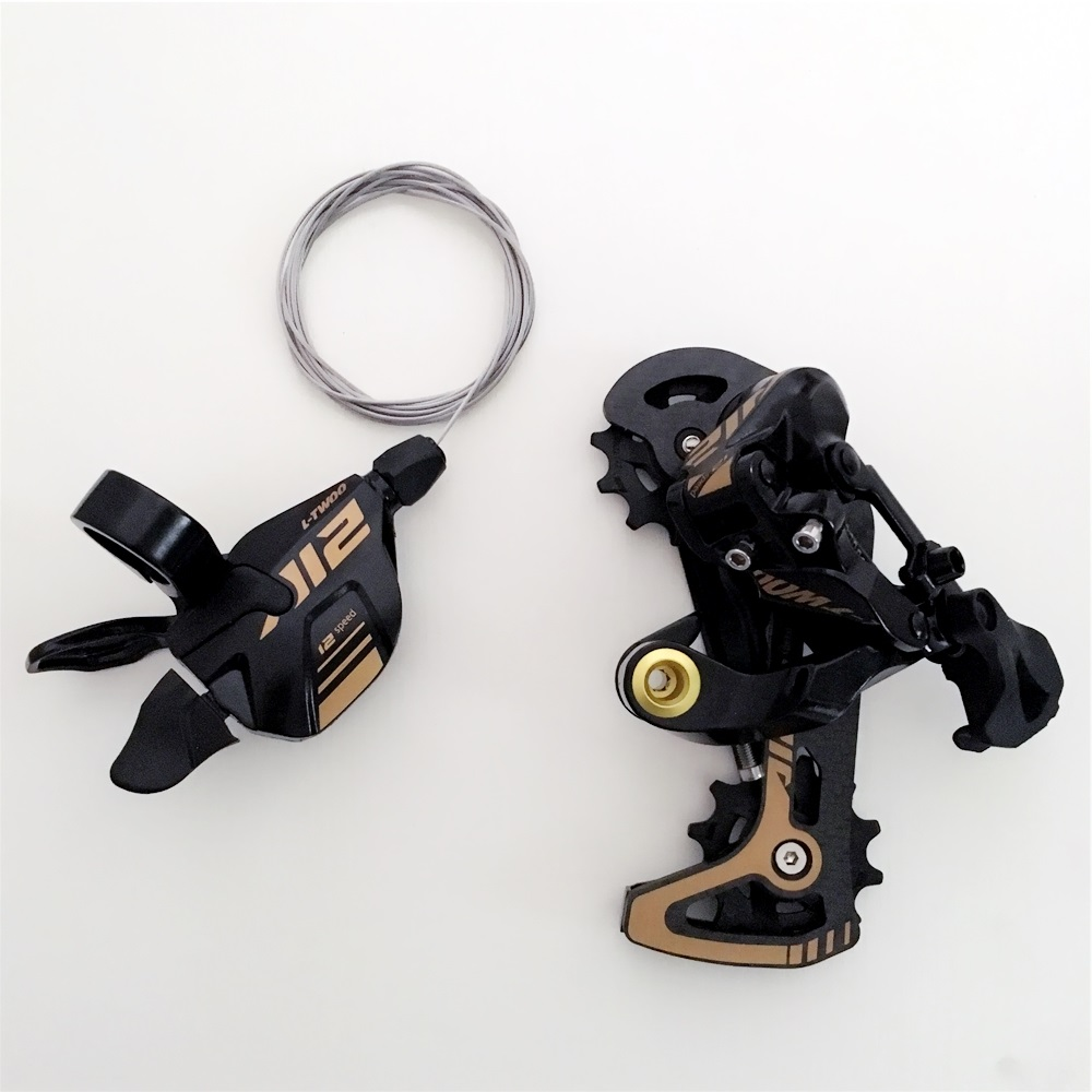 LTWOO AT12 Carbon MTB Bicycle 12 Speed Groupset Mountain Bike 12s shifter lever Rear Derailleur For M7100 M8100 <font><b>M9100</b></font> EAGLE image
