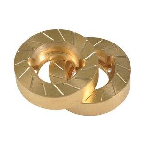Image 4 - YEAHRUN contrapeso de cobre para Axial SCX10 II 90046 90047 1/10