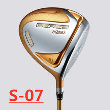 S07 Nieuwe 4 Star Clubs Honma S-07 Driver 10.5 Of 9.5 Loft Golf Driver R Of S Graphite Shaft En hout Headcover(China)
