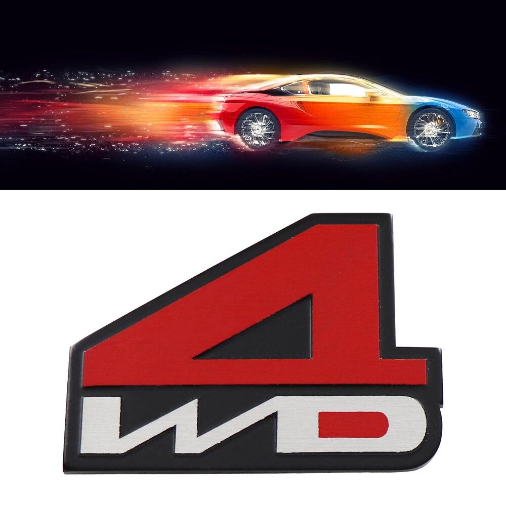 Алюминиевый 4WD 4X4 для авто внедорожник багажник крыло эмблема значок стикер