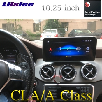 Car Multimedia Player CarPlay For Mercedes Benz CLA A Class W176 A180 2012~2019 CarPlay Radio GPS Navigation NAVI IPS Touch image