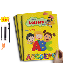 26 Alphabet Recognition Baby Exercise Calligraphy Books Handwriting For Kids Children