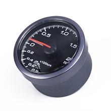 Новые аксессуары 2,5/60 мм Автомобильный светодиодный турбонаддув манометр вакуумный пресс давление бар метр сенсор Pro для салона авто 1* Установка