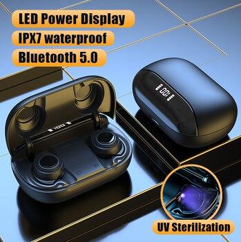 X9 Pro Wireless Bluetooth Headphone LED Power Display TWS Bluetooth Earphone Stereo Sports Waterproof IPX7 Earbuds Headsets