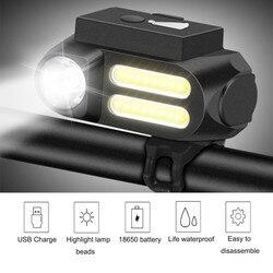 Światło rowerowe wodoodporne tylne światło LED USB akumulator XPE Mountain Bike światło rowerowe Taillamp ostrzeżenie o bezpieczeństwie światło